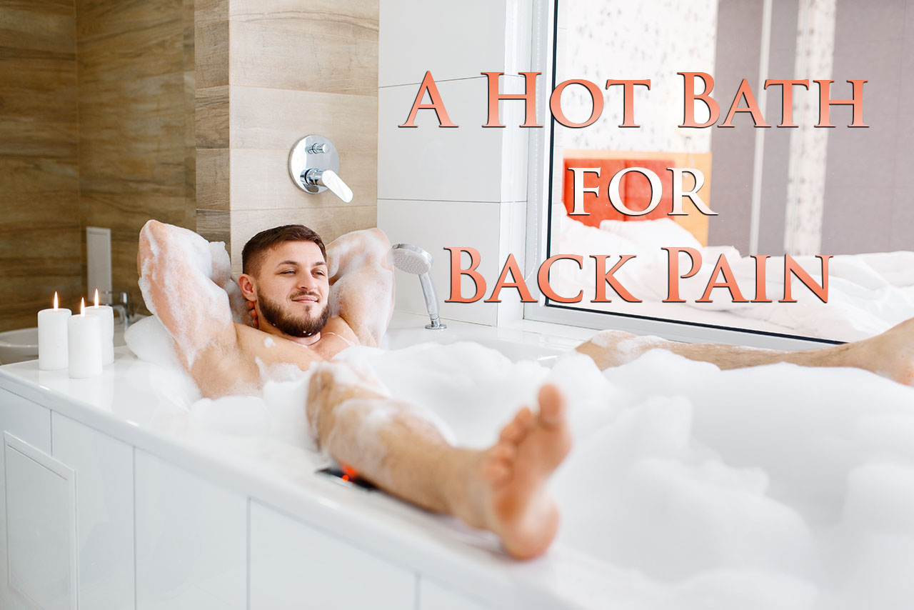11860 Vista Del Sol, Ste. 128 Hot Bath to Relax Back Tension, Soreness, and Pain